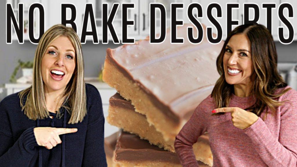 3 Easy DUMP AND GO No Bake Desserts