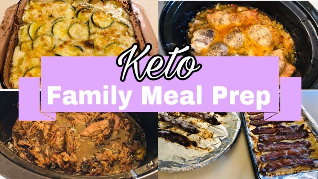 Weekly Healthy Keto Meal Prep| Dump & Go Recipes