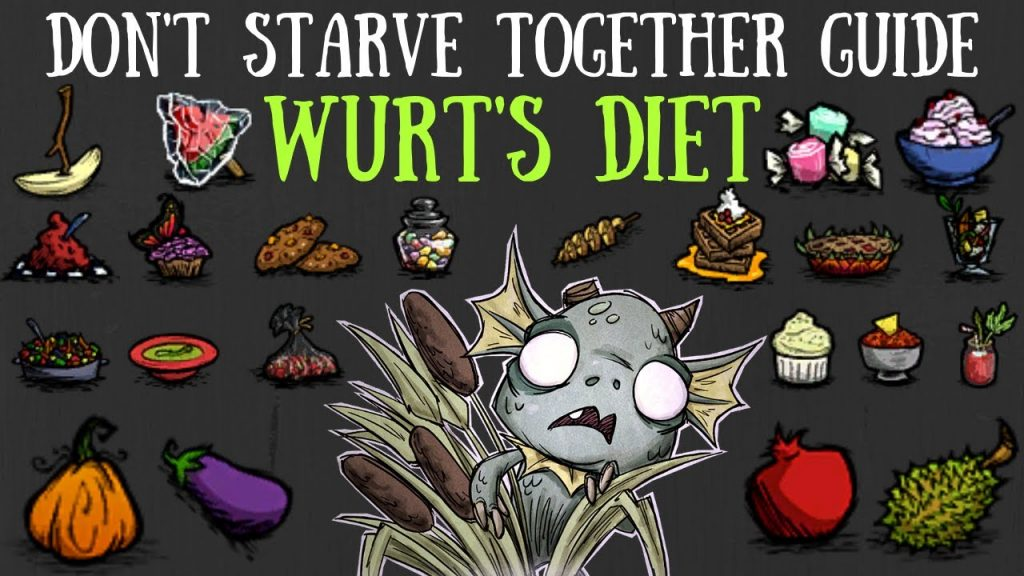 Don T Starve Together Guide Wurt S Diet All Vegan Recipes Foods Crockpot Inspirations