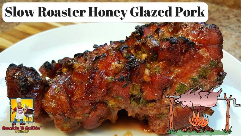 Slow Cooked Honey Glazed Pork – AMAZING!