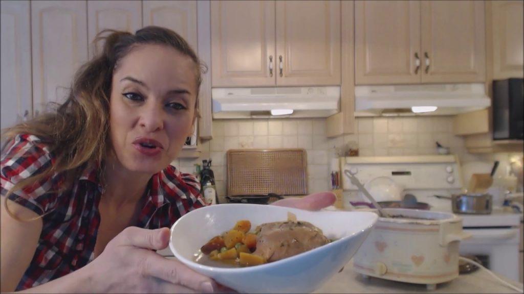 Healthy Crockpot Chicken Stew
