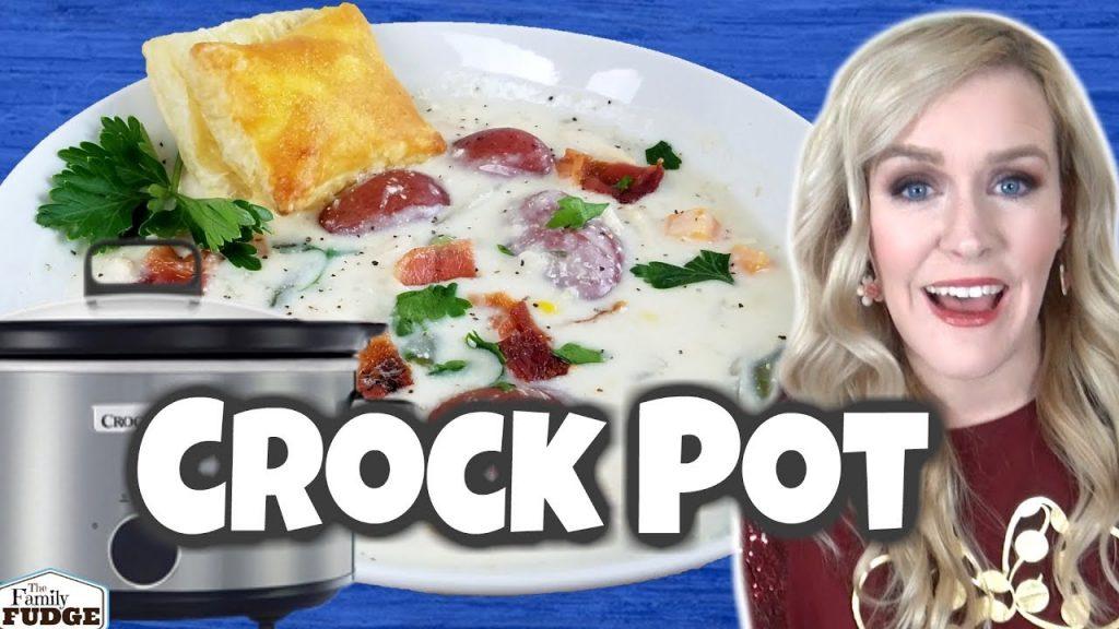 Crock Pot Chicken Pot Pie | Easy Dump and Go Dinner Idea | Crocktober