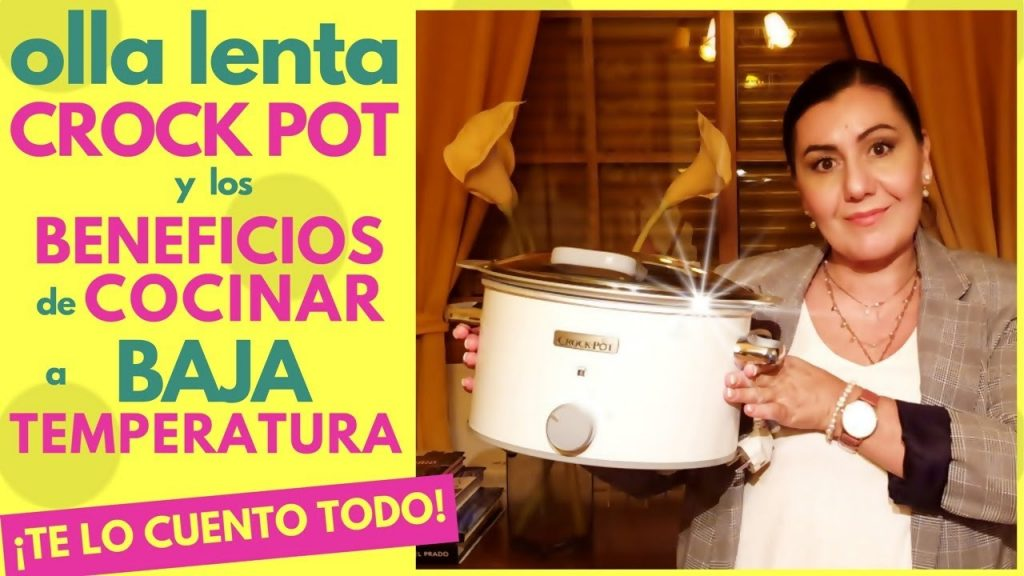 COCINA A BAJA TEMPERATURA ¡TE LO CUENTO TODO! ❤️ OLLA de COCCIÓN LENTA CROCK POT