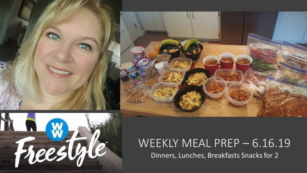 MEAL PREP TO LOSE WEIGHT! 6.16.19 | WW FREESTYLE | BREAKFAST BOWLS | CROCKPOT CHICKEN TACO CHILI