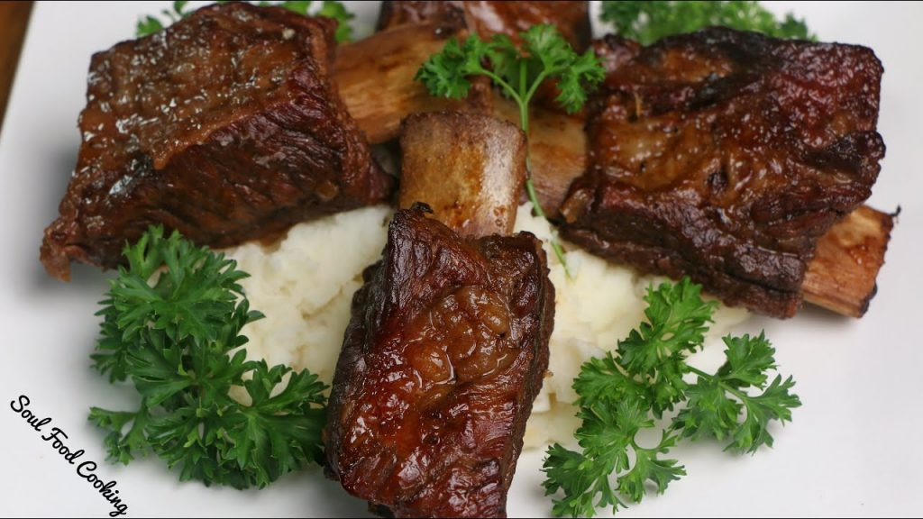 Beer Braised Beef Short Ribs | Slow Cooked Beef Short Ribs |#SoulFoodSunday
