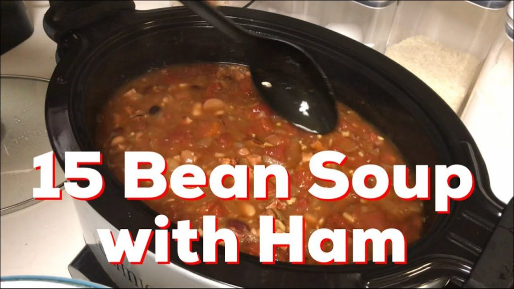 15 Bean Soup with Ham – Recipe – How to – DIY – Eating on a Budget