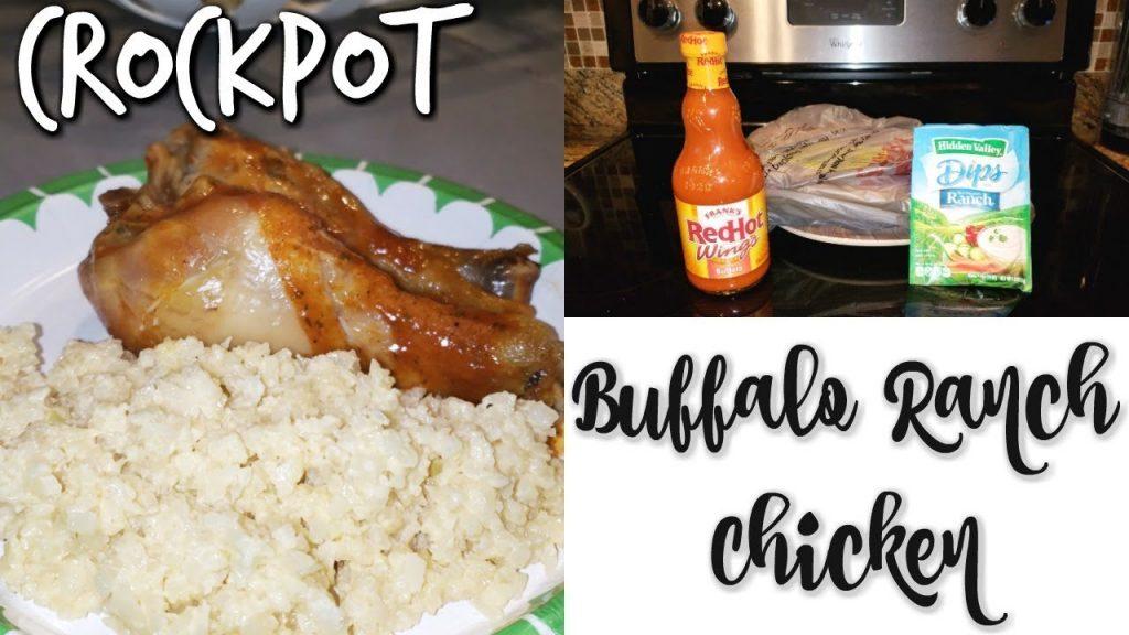 CROCKPOT BUFFALO RANCH CHICKEN~FOODIE FRIDAYS!