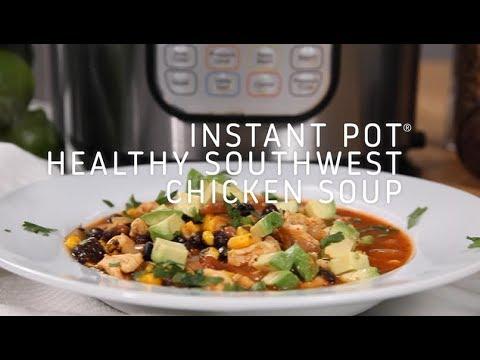 Instant Pot Healthy Southwest Chicken Soup