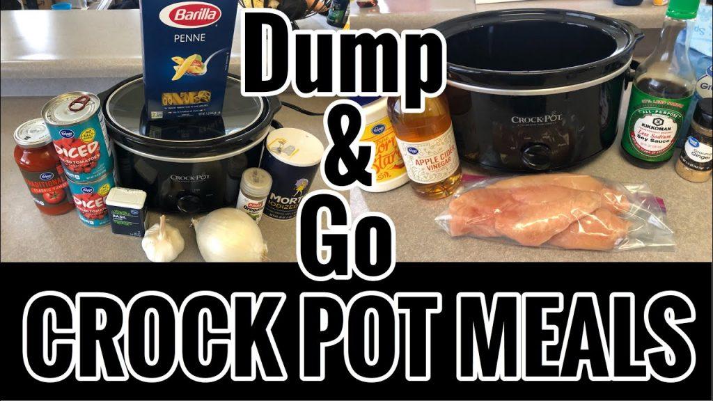 *NEW 2020* DUMP & GO CROCKPOT MEALS / EASY & AFFORDABLE CROCKPOT MEALS / NATALIE MOORE