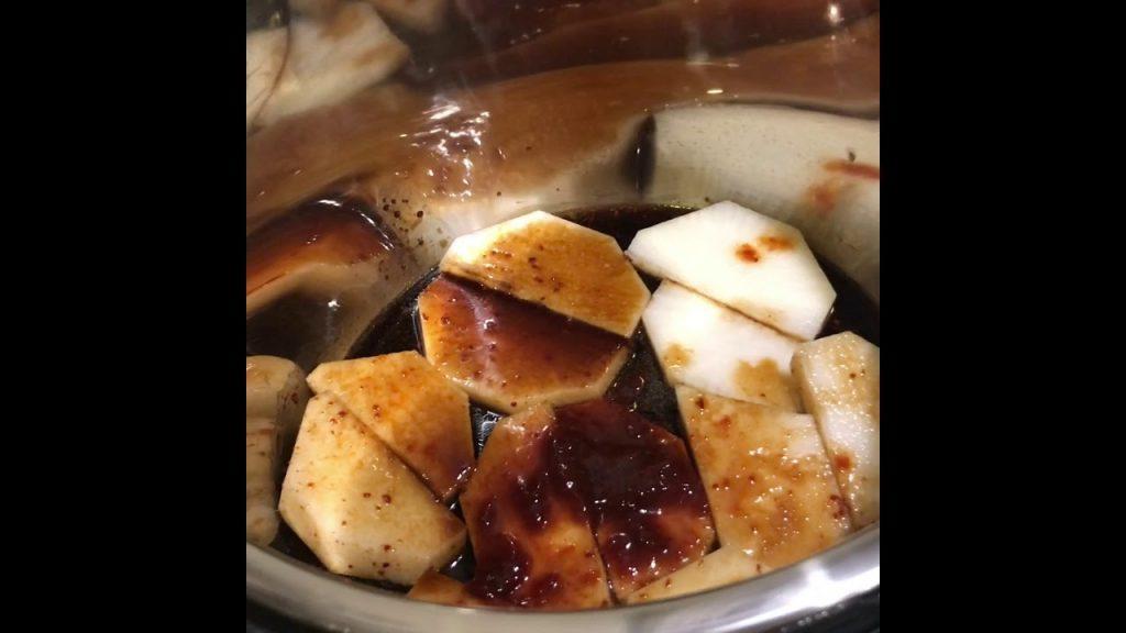 Instant Pot Braised Fish
