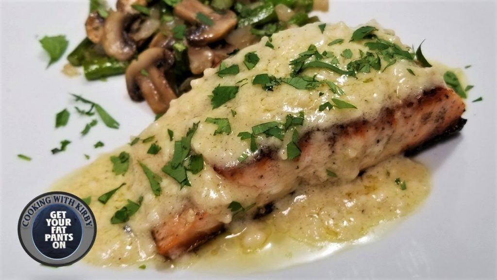 Garlic Butter Salmon  – Easy Recipes – Keto Recipes