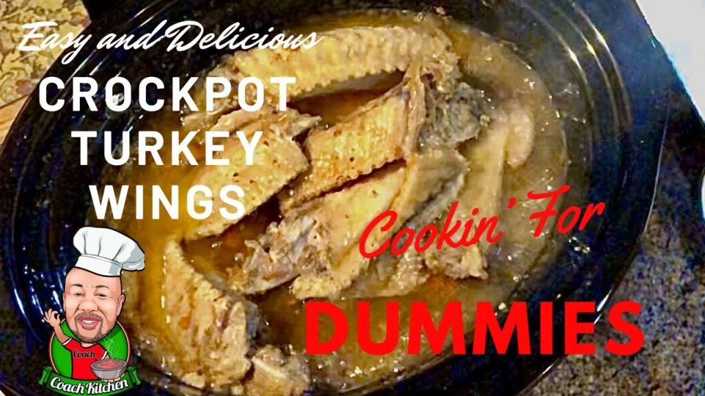 How to make the Best Easy Delicious Crockpot Slow Cooker Turkey Wings