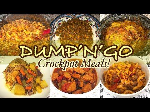 Dump & Go Crockpot Meals Easy   EASY & SIMPLE FAMILY MEAL IDEAS