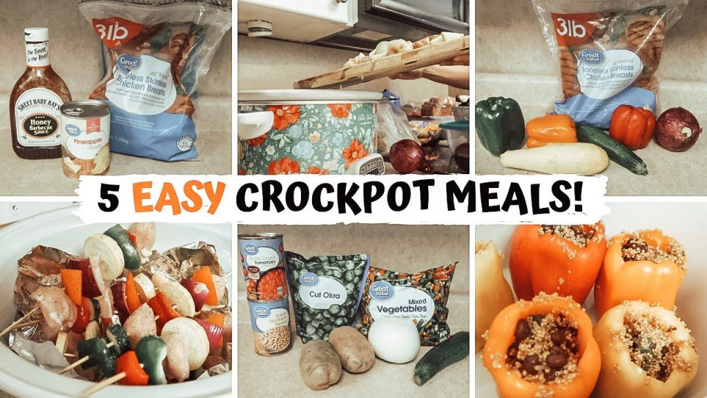 SIMPLE & HEALTHY SUMMER CROCKPOT MEALS ON A BUDGET: MINIMAL INGREDIENT MEALS