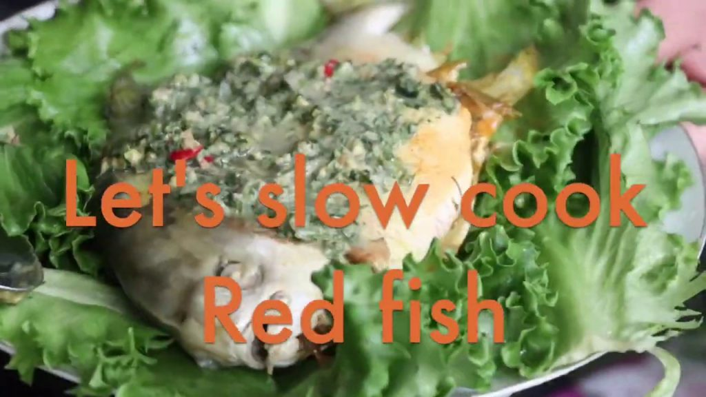 Slow cook Red Fish
