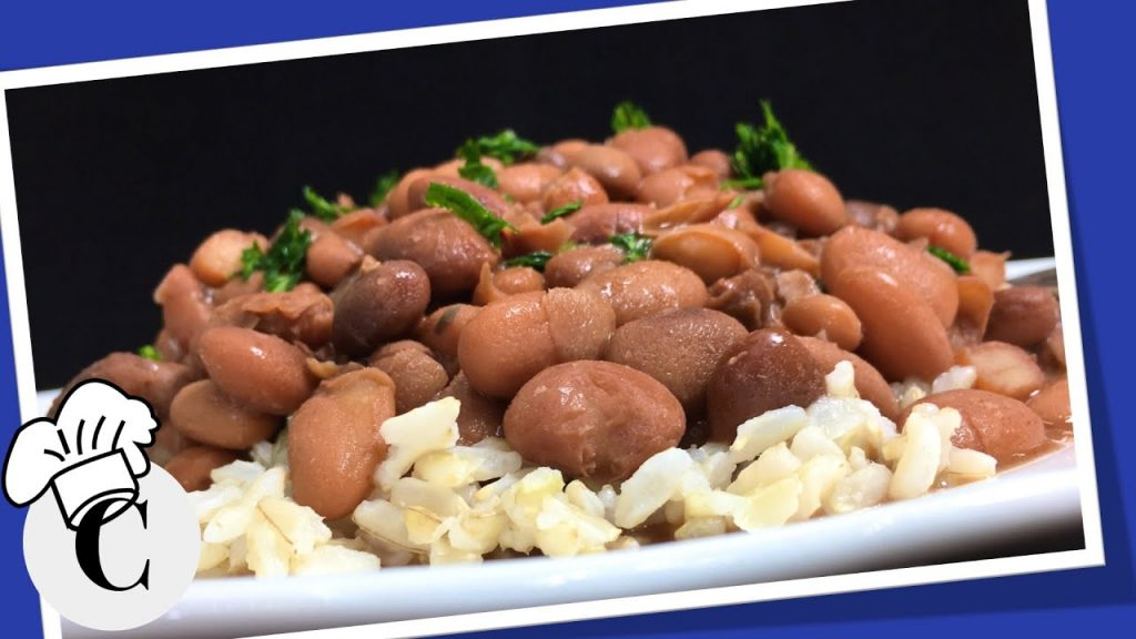 How to Make Crockpot Pinto Beans! An Easy, Healthy Recipe!