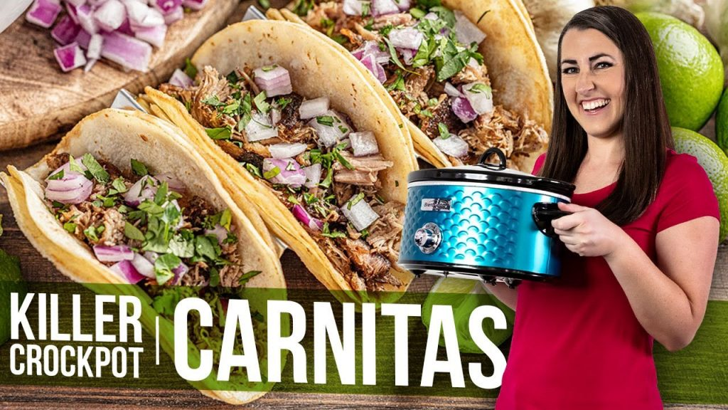 Killer Crockpot Carnitas