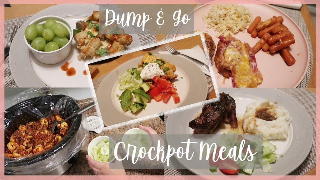 Dump & Go Crockpot Meals | Easy Weeknight Crockpot Meals