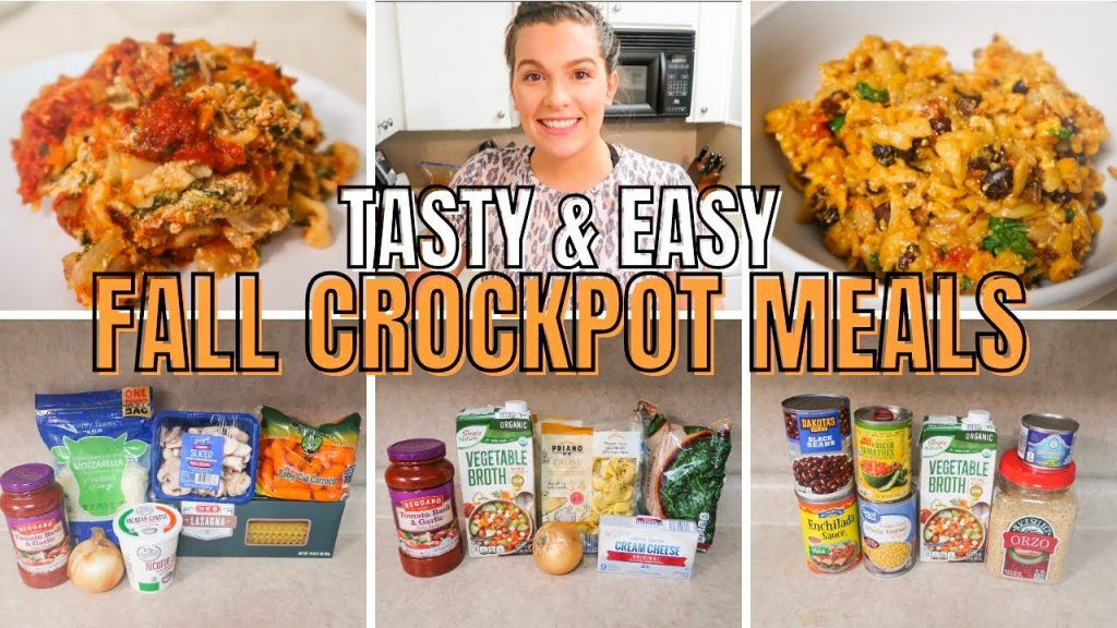EASY FALL CROCKPOT MEALS ON A BUDGET: MEATLESS CROCKPOT RECIPES FOR EVERYONE
