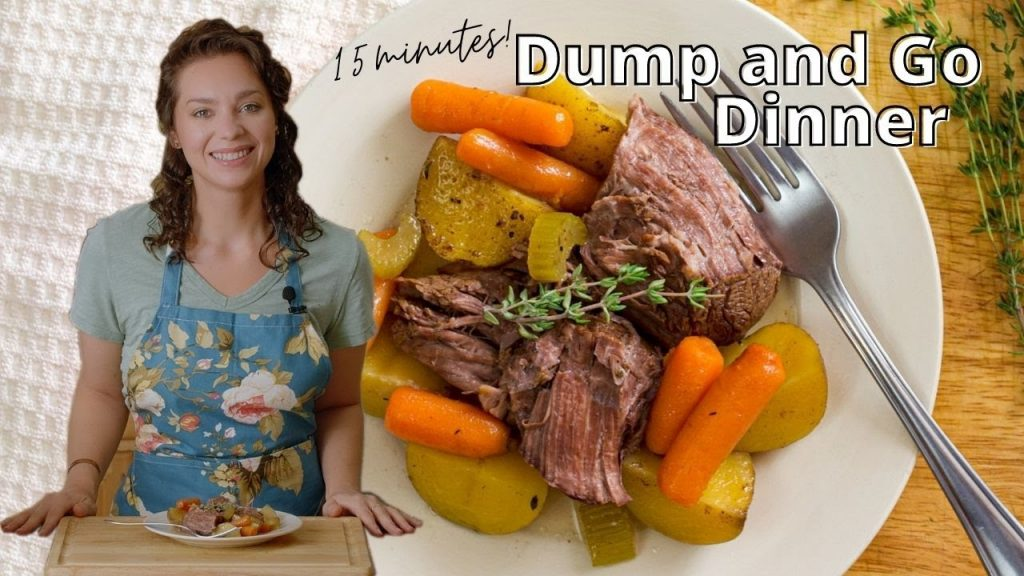 Pot Roast | Slow Cooker/Crockpot | Low Fodmap | Gluten Free | Dairy Free | Grit and Groceries
